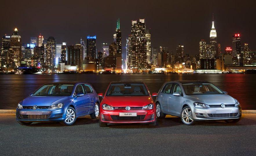 2015 Volkswagen Golf TSI, GTI, and TDI - Slide 2