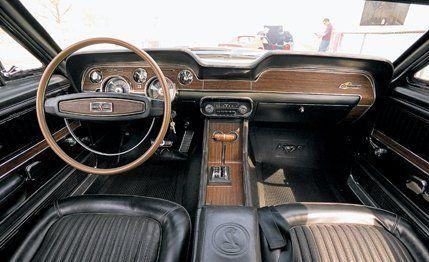 1968 Ford Mustang Shelby GT500KR vs. 1968 Chevrolet Corvette 427 ...