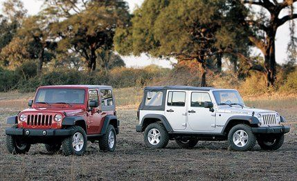 2007 Jeep Wrangler And Unlimited Road Test Review Car Driver