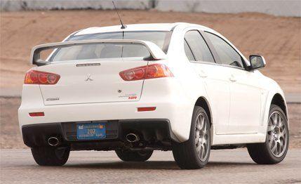 2008 Mitsubishi Lancer Evolution Mr Short Take Road Test Car And Driver