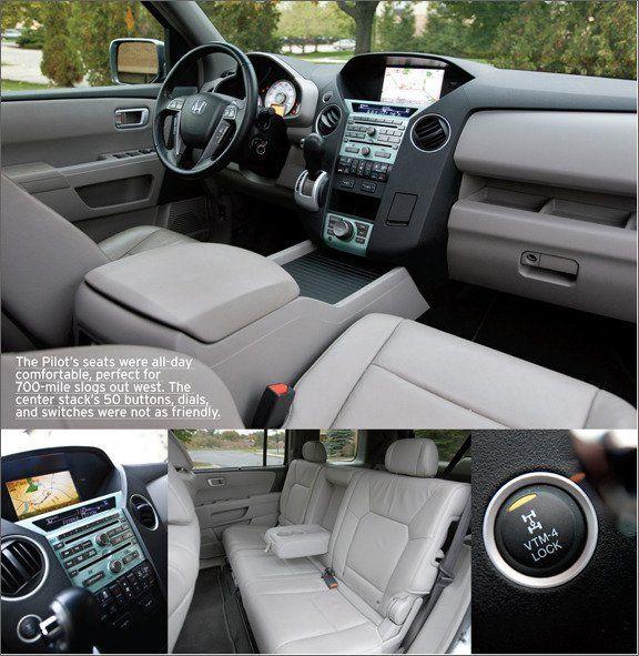 2009 Honda Pilot Touring 4WD  Longterm Road Test  Reviews  Car