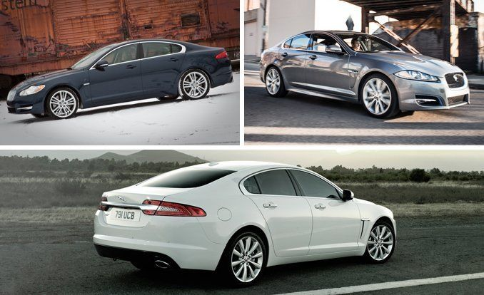 View 104 Photos Clockwise From Top, Left: 2010 Jaguar XF Supercharged, 2013  Jaguar XF 2.0T, And 2012 Jaguar XF