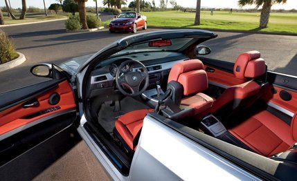 Audi A T Quattro Vs BMW I Infiniti G - 2010 bmw 328i convertible