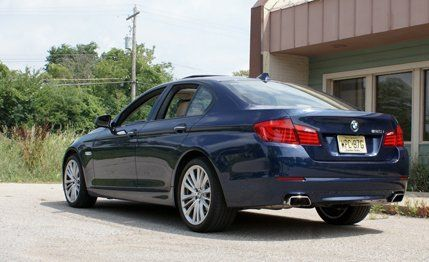 BMW I Instrumented Test Car And Driver - 2012 bmw 550i m sport