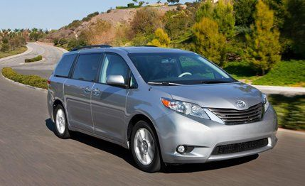 2011 toyota sienna xle awd instrumented test car and driver rh caranddriver com toyota sienna 2012 manual toyota sienna 2010 manual