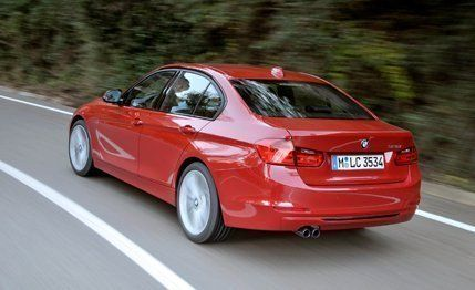 BMW I Sedan Automatic Test Review Car And Driver - 2012 bmw 328i sport line