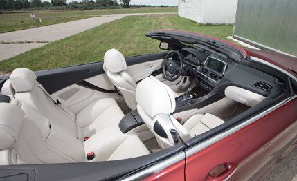 BMW I Convertible Road Test Review Car And Driver - 2013 bmw 650i convertible for sale
