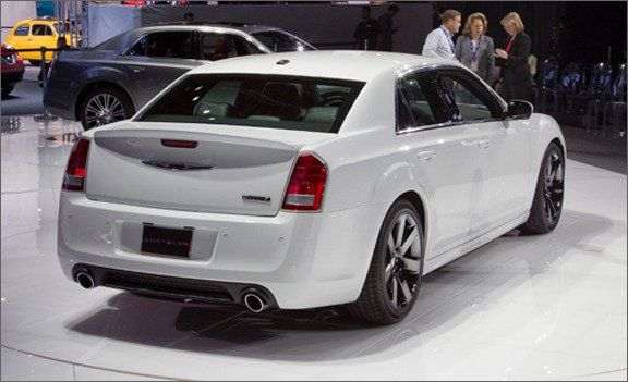 2012 Chrysler 300C SRT8 Official Photos and Info  News  Car and