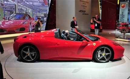 Superior Ferrari Claims The Spider Will Run To 62 Mph From A Standstill In Less Than  3.5 Seconds Before Romping On To A Top Speed In Excess Of 198 Mph.