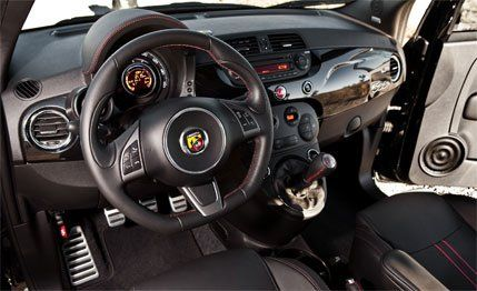 2012 Fiat 500 Abarth First Drive  Review  Car and Driver