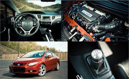 2012 Honda Civic Si Coupe Test  Review  Car and Driver