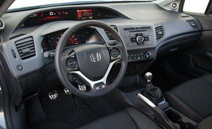 2012 Honda Civic Si Sedan Instrumented Test  Review  Car and Driver