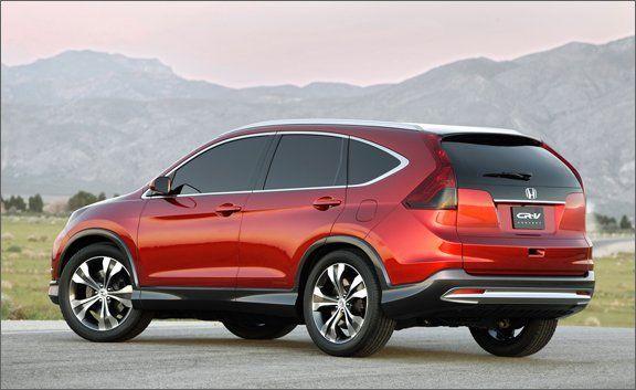 2012 Honda Cr V Concept Photos And Info Ndash News Ndash Car And