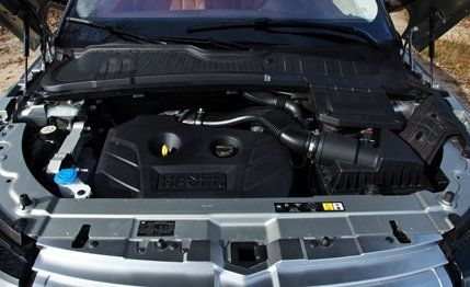 2012 Land Rover Range Rover Evoque Road Test  Review  Car and Driver