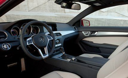 2012 MercedesBenz Cclass  C250  C350 Coupe First Drive