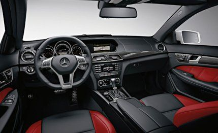 2012 mercedes-benz c63 amg coupe – review – car and driver