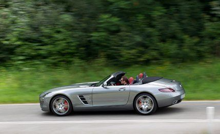 2012 Mercedes Benz SLS AMG Roadster | First Drive Review | Car And Driver