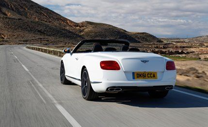 2013 Bentley Continental GTC V8 Test - Review - Car and Driver
