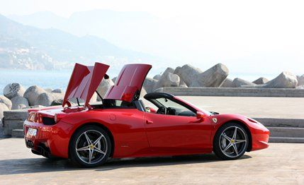Ferrari Has Been Noodling Around With The Novel Flip Off Hardtop For Almost  As Long As It Has Been Doing The Modern Spiders. The Company Considered A  Single ...