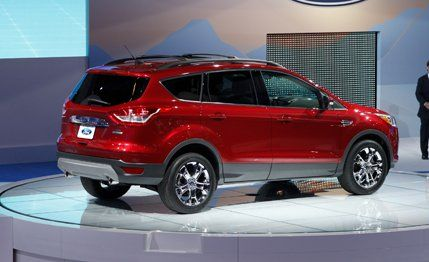 2013 Ford Escape Official Photos and Info ndash News ndash Car