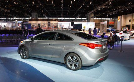 2013 Hyundai Elantra Coupe Photos and Info | News | Car and Driver