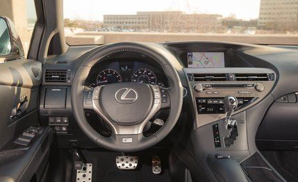 2013 Lexus RX350 F Sport Test Review Car And Driver
