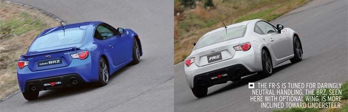 2013 Subaru BRZ and 2013 Scion FR-S: A Study in Comparison and ...