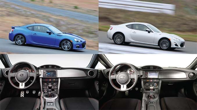 Worksheet. 2013 Subaru BRZ and 2013 Scion FRS A Study in Comparison and