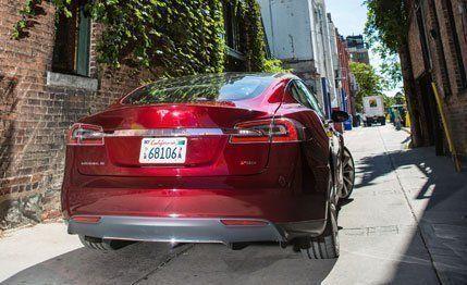Tesla Model S Test Review Car And Driver - 2013 tesla model s range