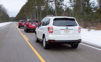 2013 Toyota RAV4 XLE AWD vs 2014 Subaru Forester 25i Touring