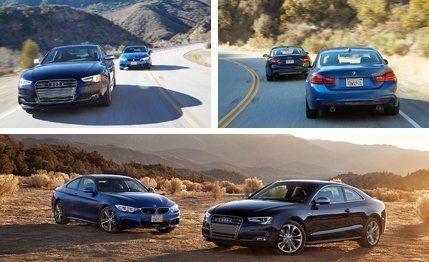2014 Audi S5 vs 2014 BMW 435i  Comparison Test  Car and Driver