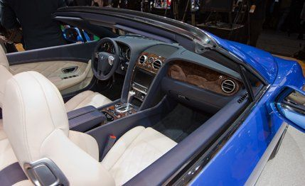 2014 Bentley Continental GT Speed Convertible   News   Car and Driver