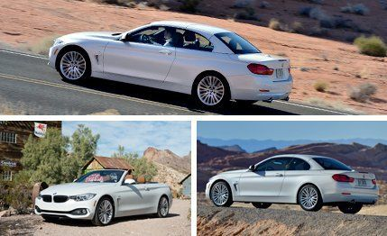 BMW Series Convertible First Drive Review Car And Driver - Bmw 4 series hardtop convertible