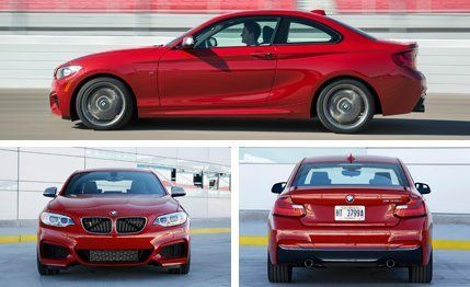 BMW Mi Series Coupe First Drive Review Car And Driver - 2014 bmw m235i