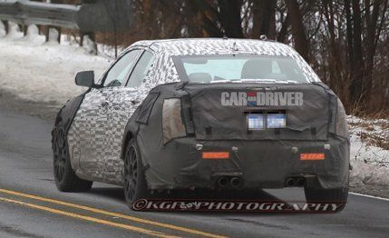 2014 cadillac ats v spy photos future cars car and driver get the best deal on a cadillac ats v sciox Choice Image
