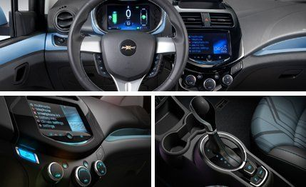 2014 Chevrolet Spark Ev First Drive Review Car And Driver