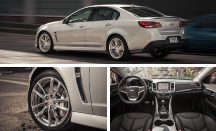 2015 chevy ss 0-60