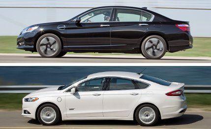 2013 Ford Fusion Energi Titanium Vs. 2014 Honda Accord Plug In Hybrid |  Comparison Test | Car And Driver
