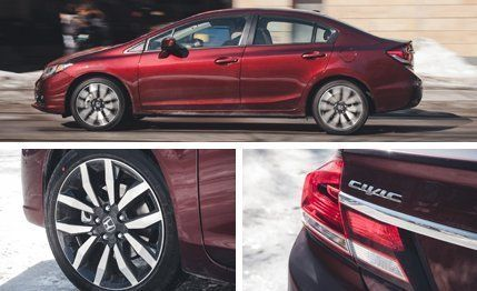 2014 Honda Civic 1 8l Cvt Sedan Test Review Car And Driver