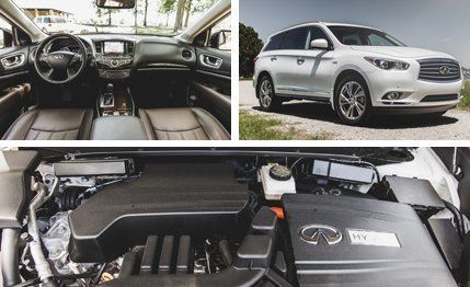 2014 infiniti qx60 hybrid awd test review car and driver publicscrutiny Images