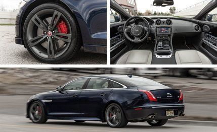 New Jaguar XJR 2014 HD Interior   Engine Sound Driving Commercial ...