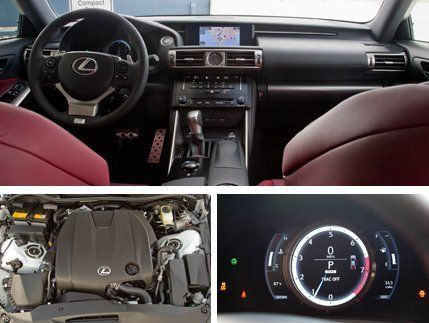 2014 Lexus IS250 F Sport AWD Test  Review  Car and Driver