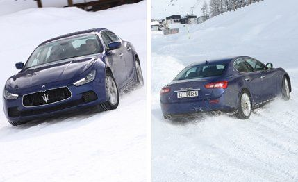 2014 Maserati Ghibli S Q4 First Drive Review Car And Driver