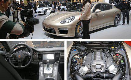 2014 Porsche Panamera Turbo S Photos and Info  News  Car and Driver