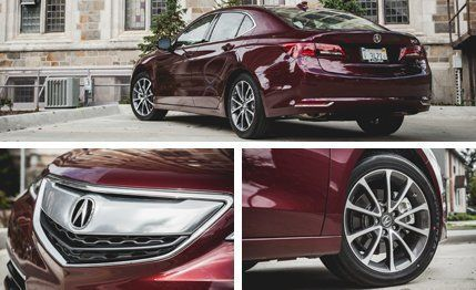 Acura TLX V FWD Test Review Car And Driver - 2015 acura tlx mpg