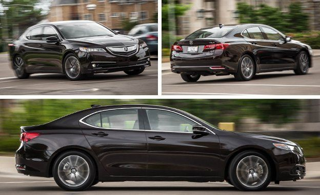 Acura TLX V SHAWD Test Review Car And Driver - 2015 acura tlx mpg