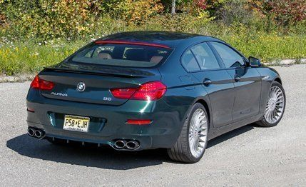 Bmw Alpina B6 >> 2015 Bmw Alpina B6 Gran Coupe Test Review Car And Driver
