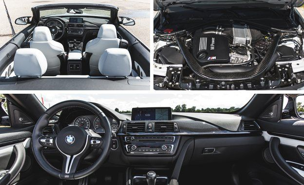 BMW M Convertible Manual Review Car And Driver - 2015 bmw m4 convertible price