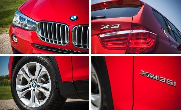 2015 BMW X3 XDrive35i Test