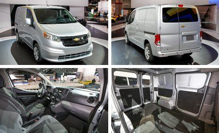 2018 Chevrolet City Express Reviews Price Photos And Specs Car Driver